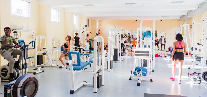 Internat Montbareil Guingamp salle de sport